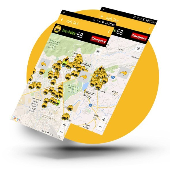 safetaxi-Map